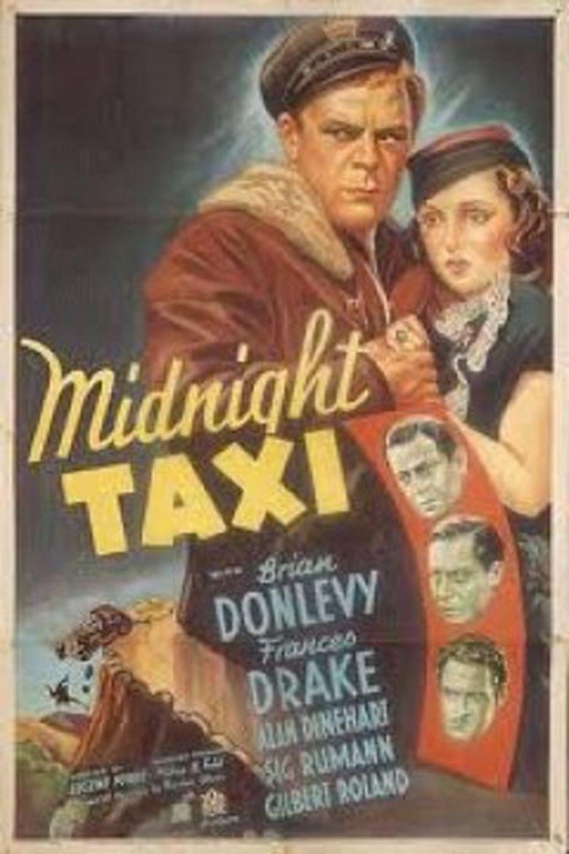 Midnight Taxi (1937 film) movie poster