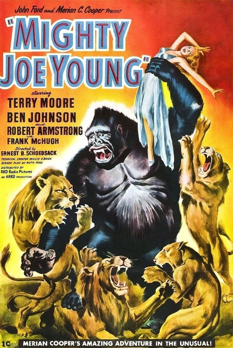 Mighty Joe Young (1949 film) movie poster