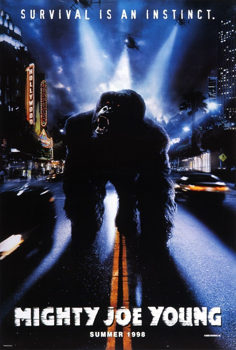 Mighty Joe Young (1998 film) movie poster