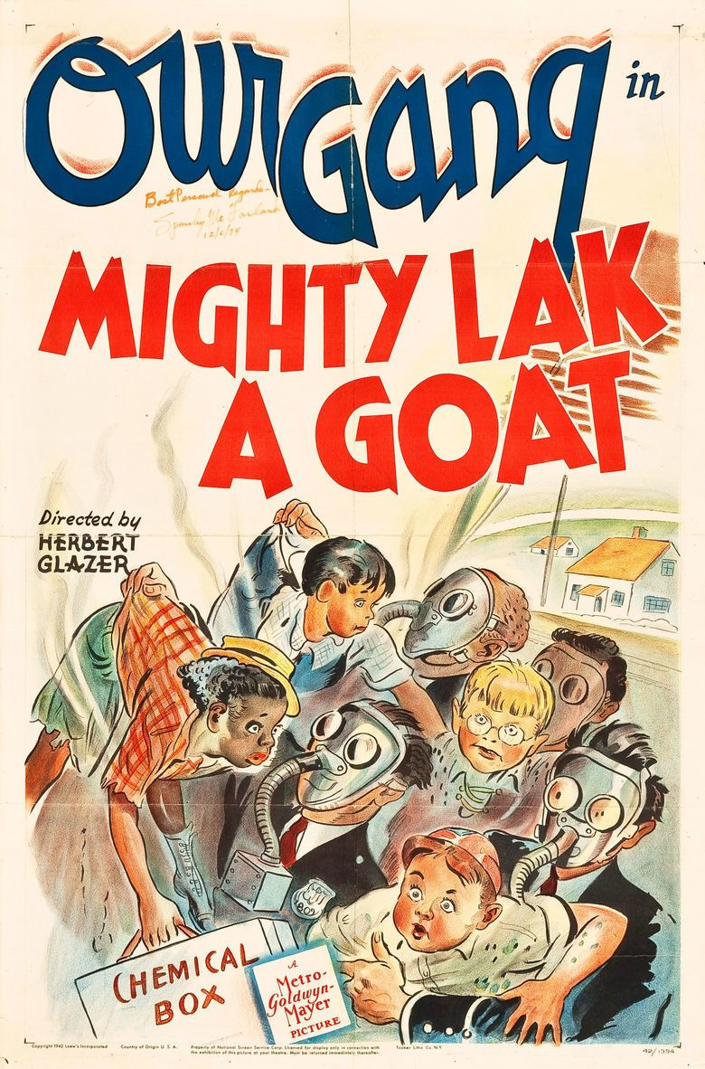 Mighty Lak a Goat movie poster