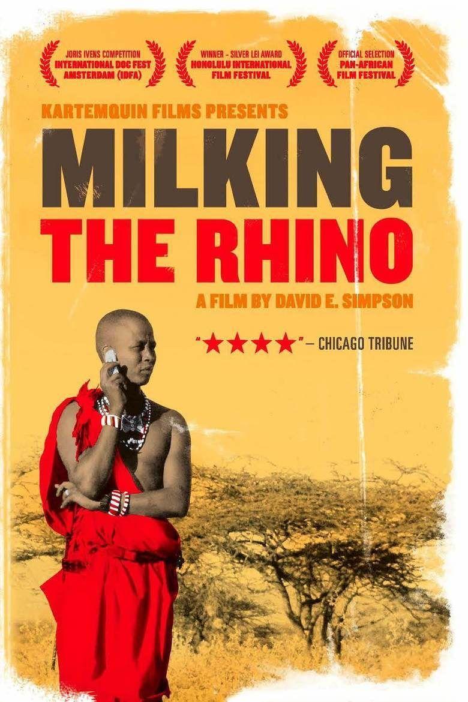 Milking the Rhino movie poster
