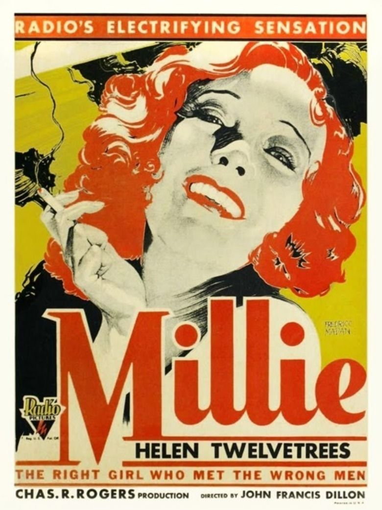 Millie (film) movie poster