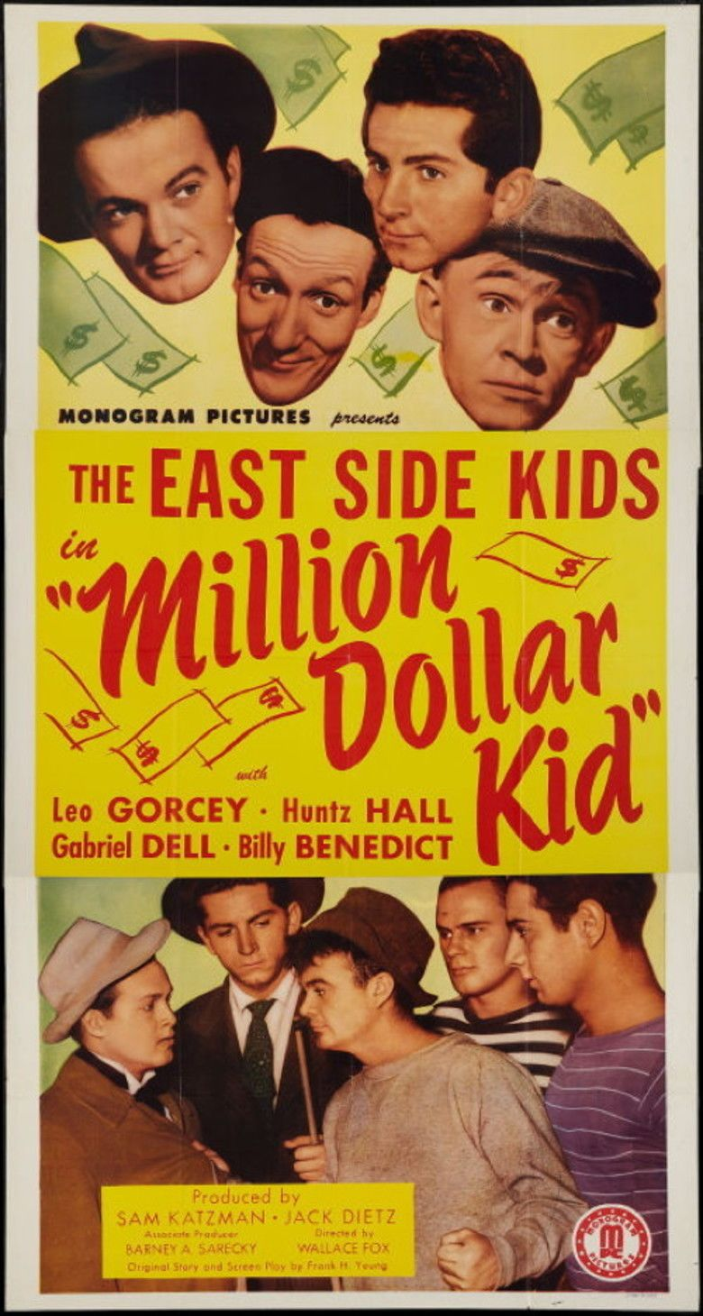 Million Dollar Kid movie poster