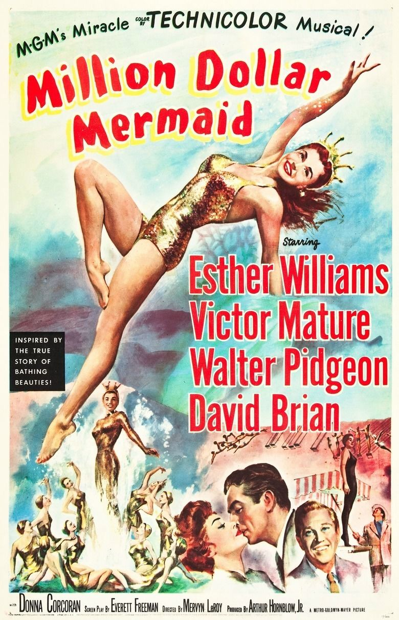 Million Dollar Mermaid movie poster