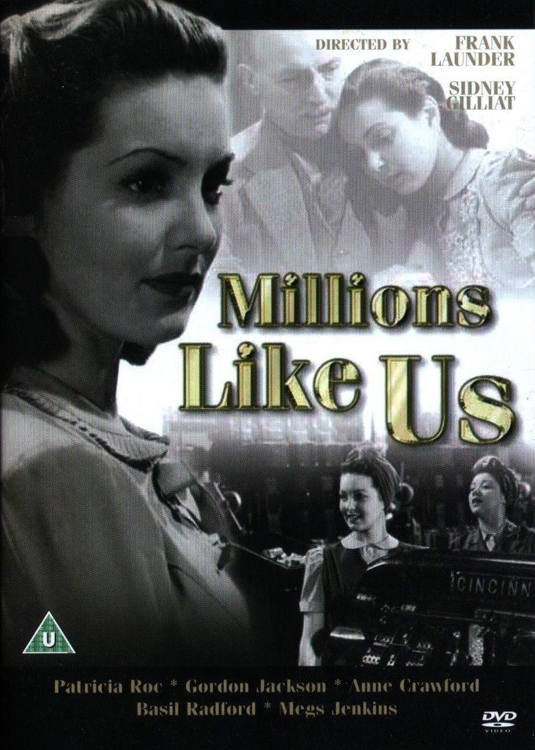 Millions Like Us movie poster