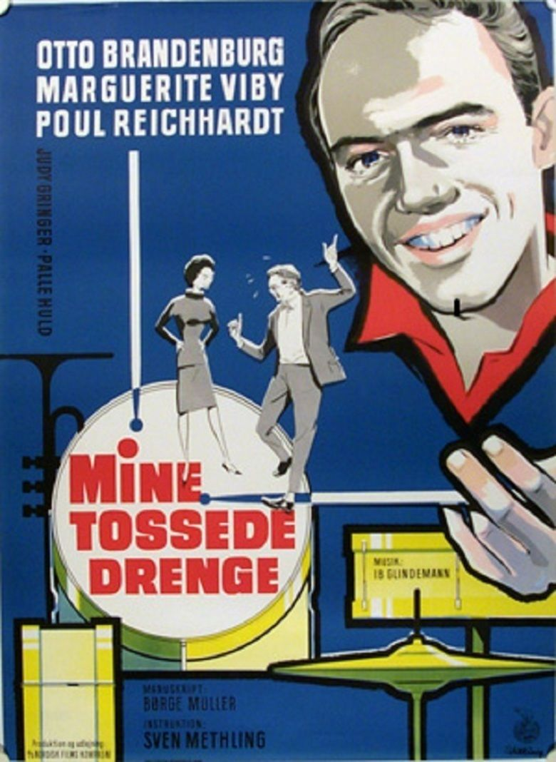 Mine tossede drenge movie poster