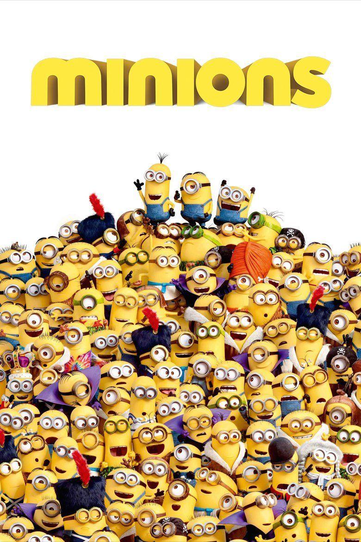 Minions (film) movie poster