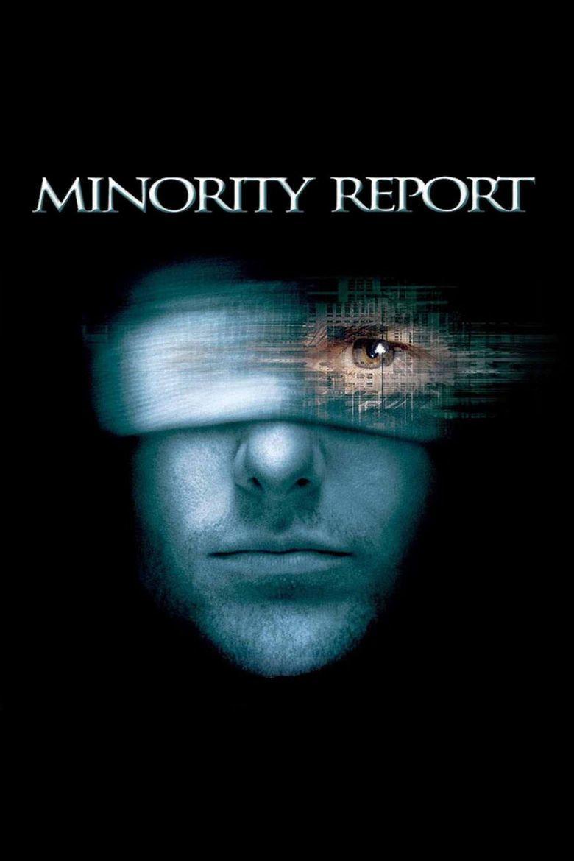 Minority Report (film) movie poster