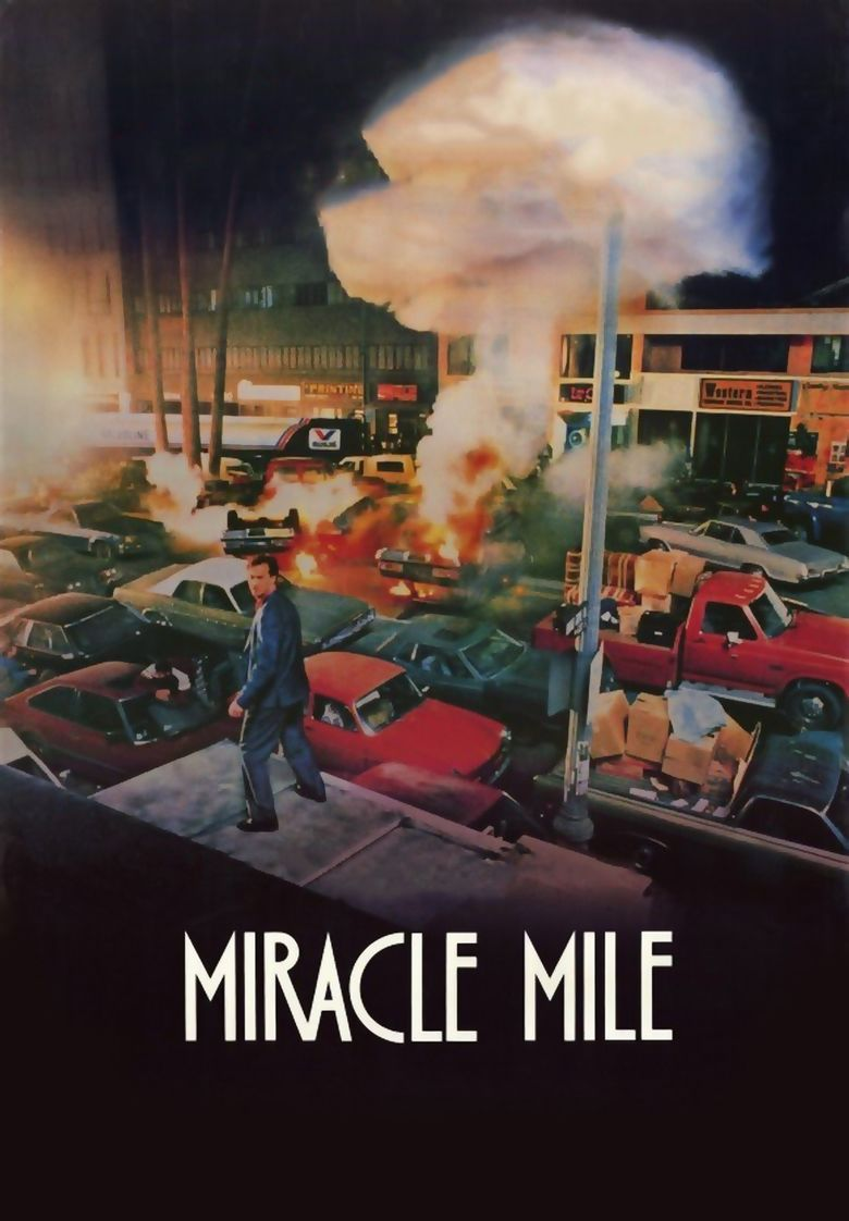 Miracle Mile (film) movie poster