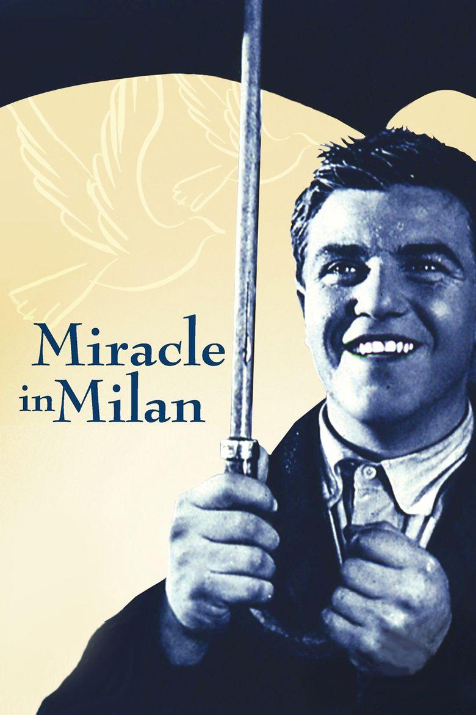 Miracle in Milan movie poster