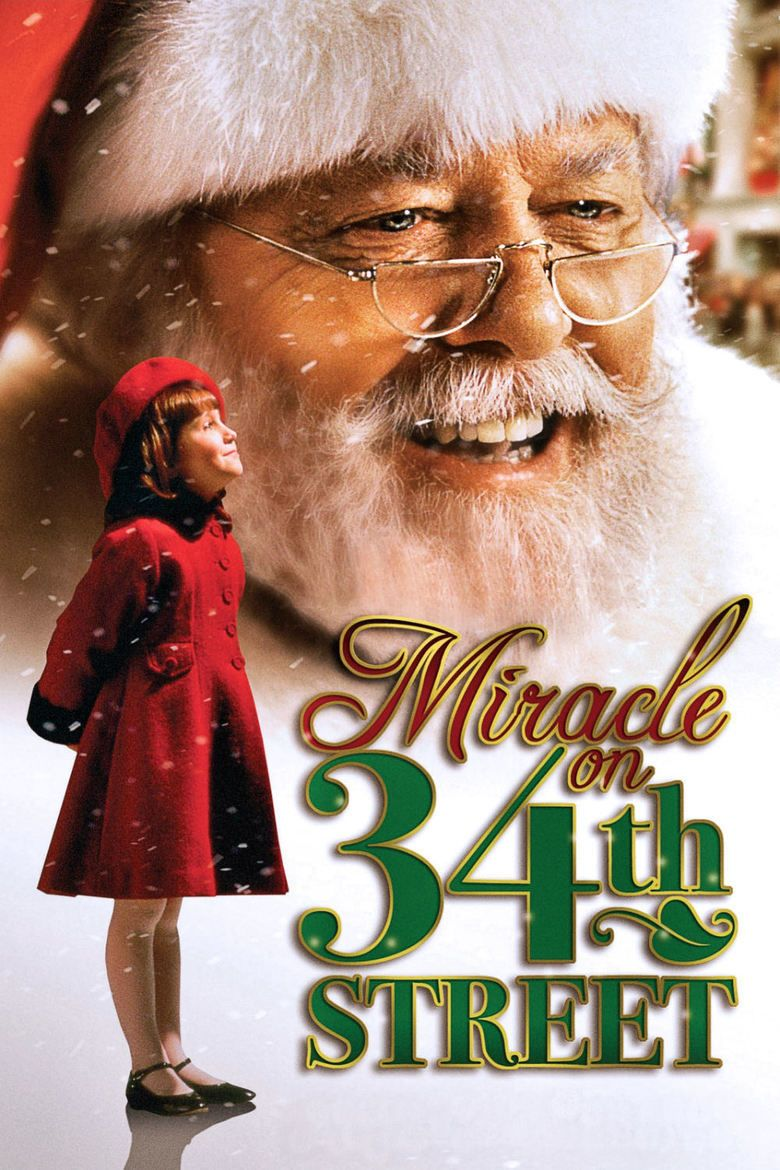 Miracle on 34th Street (1994 film) movie poster