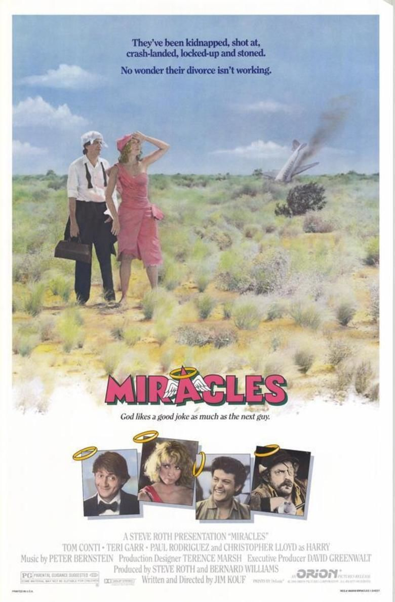 Miracles (1986 film) movie poster
