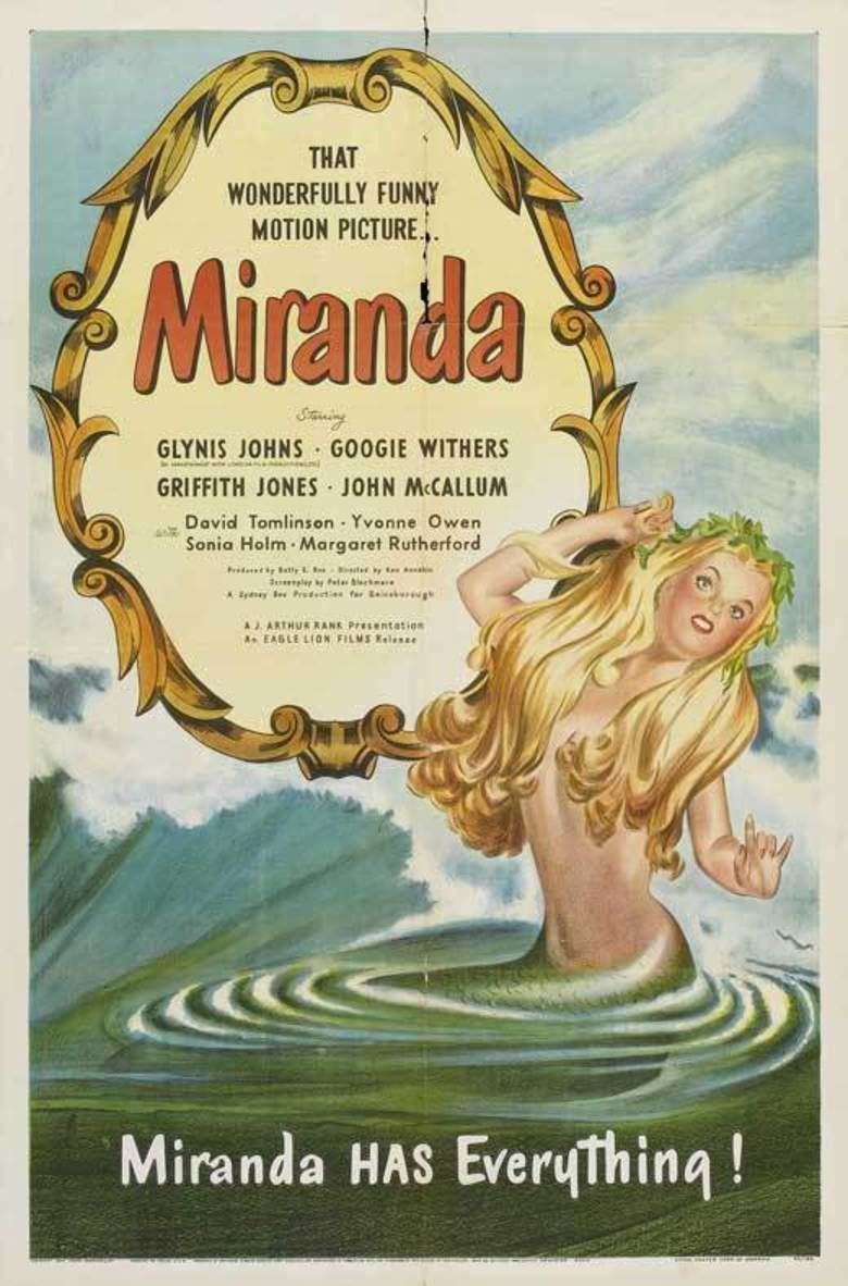 Miranda (1948 film) movie poster