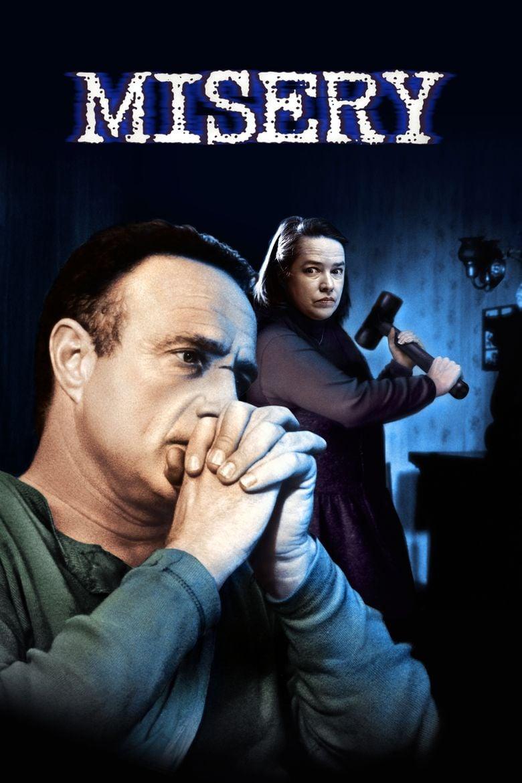 Misery (film) movie poster