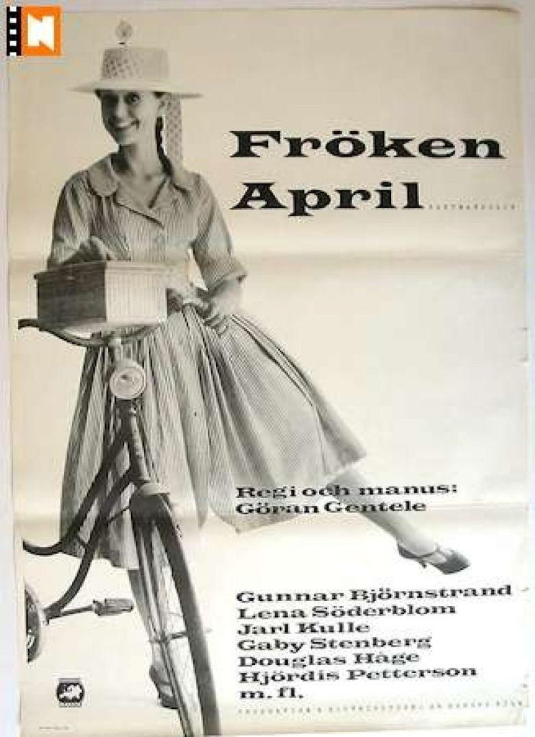 Miss April (1958 film) movie poster