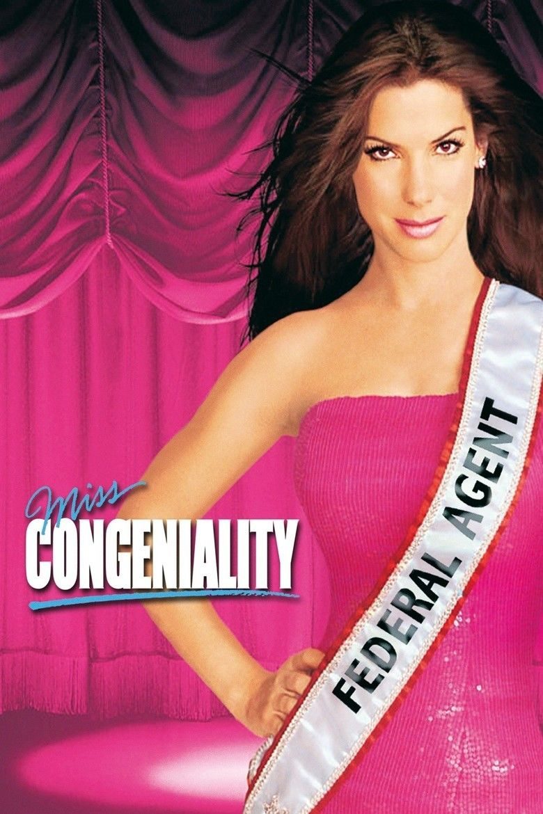 Miss Congeniality (film) movie poster