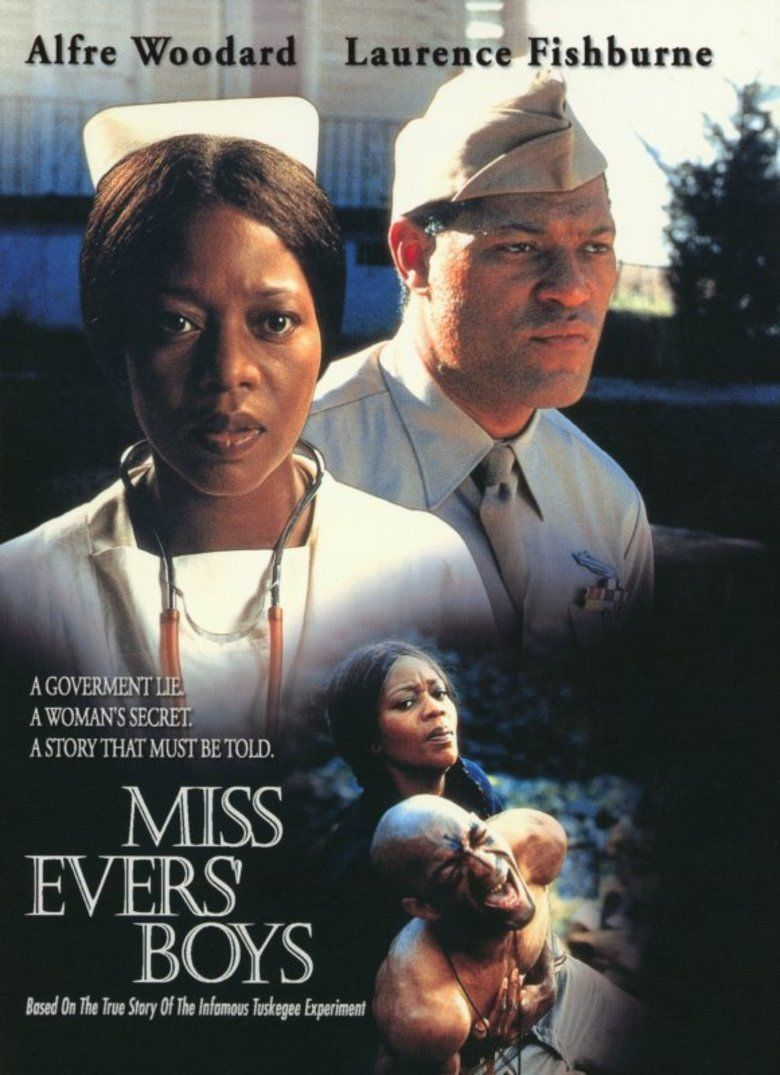 Miss Evers Boys movie poster