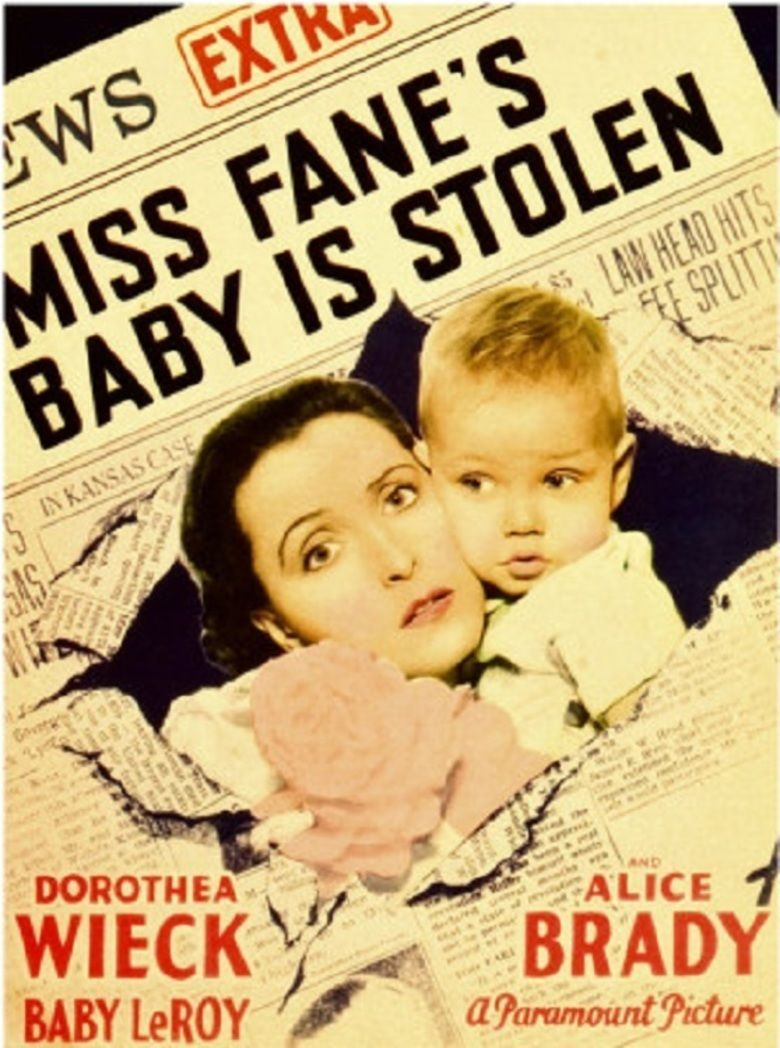 Miss Fanes Baby Is Stolen movie poster