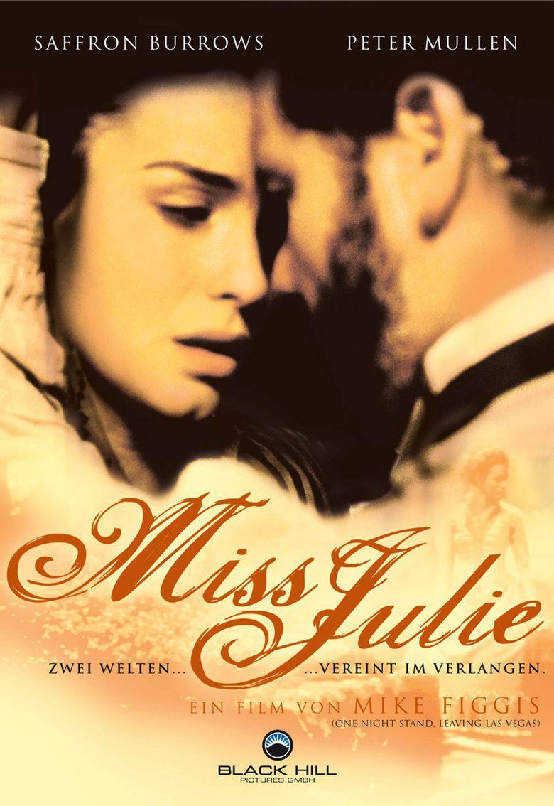 Miss Julie (1999 film) movie poster