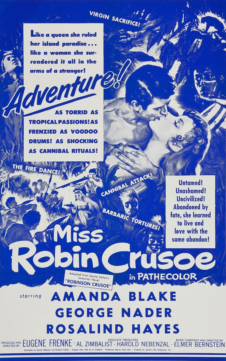 Miss Robin Crusoe movie poster