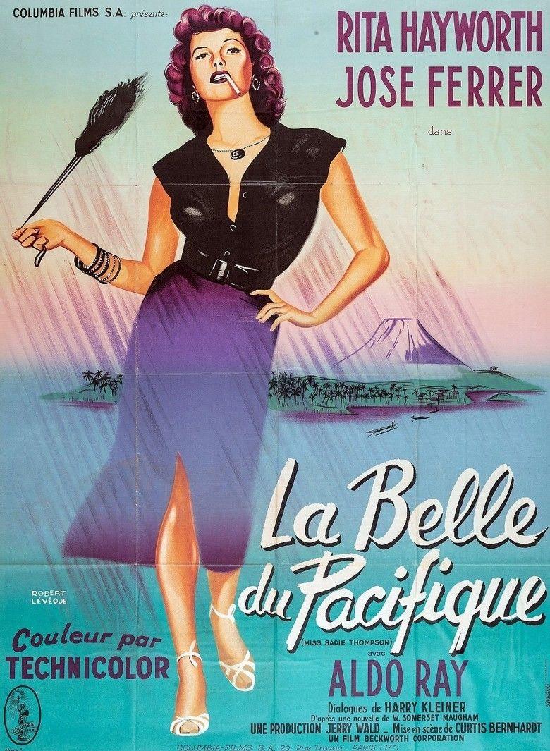 Miss Sadie Thompson movie poster