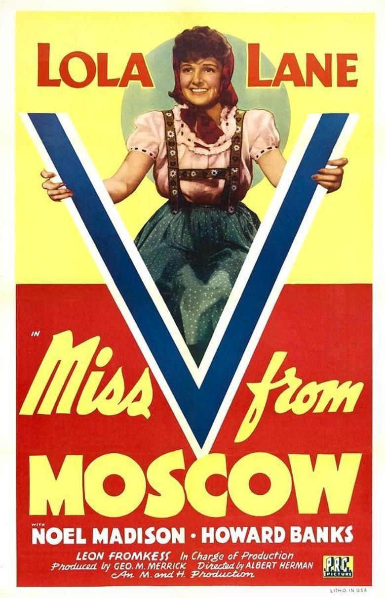 Miss V from Moscow movie poster