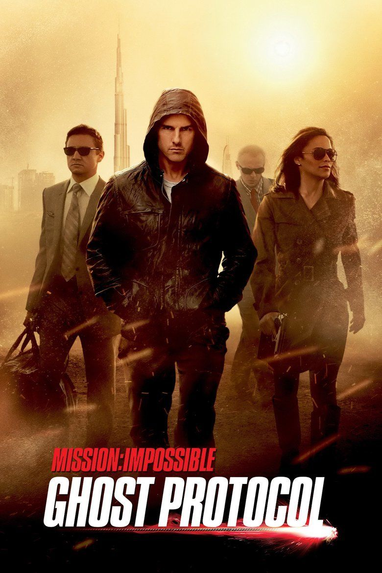 Mission: Impossible Ghost Protocol movie poster