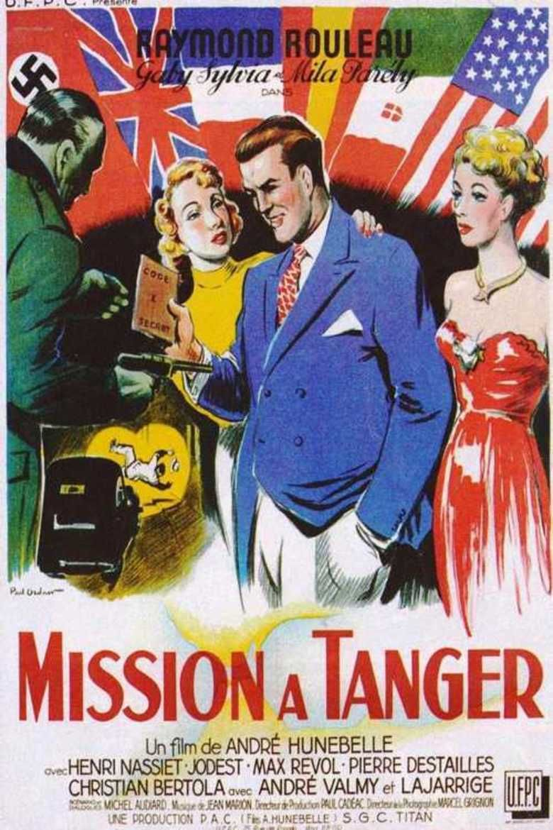 Mission in Tangier movie poster