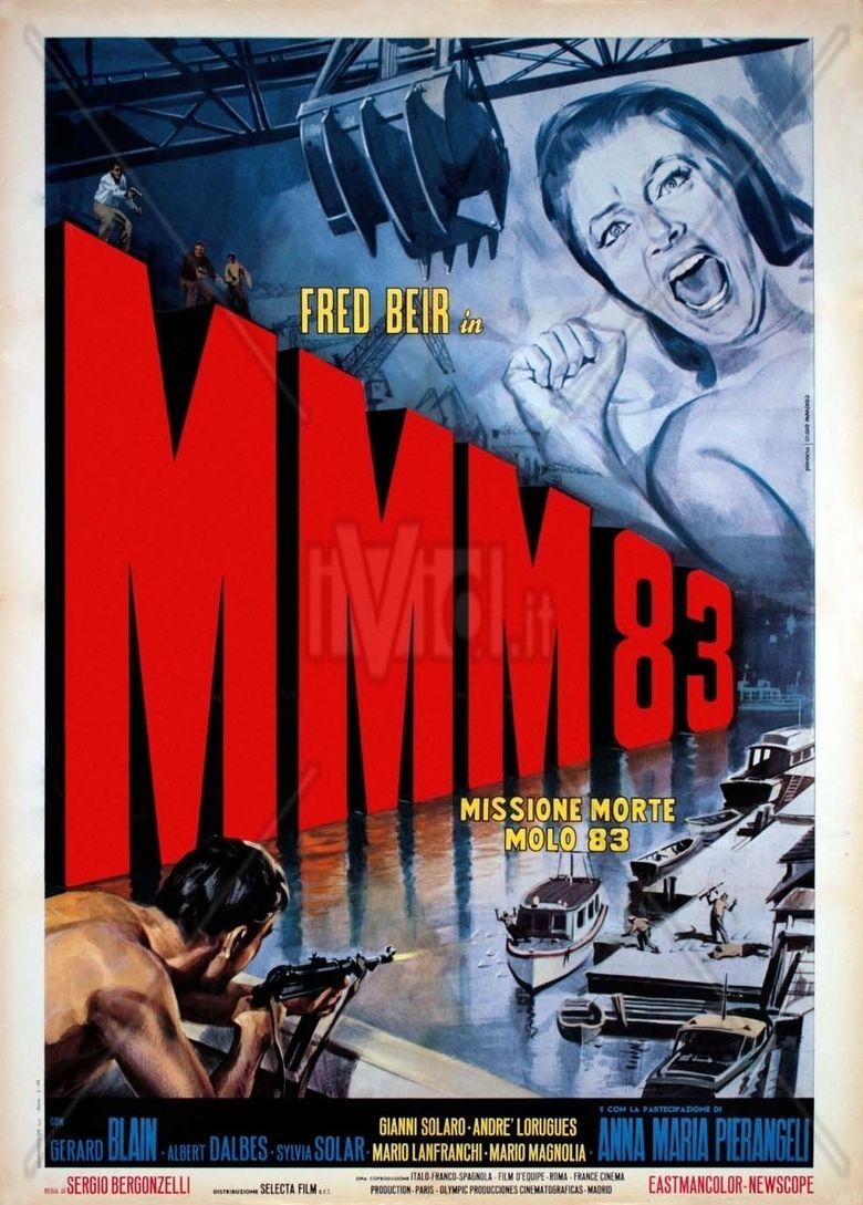 Missione mortale Molo 83 movie poster