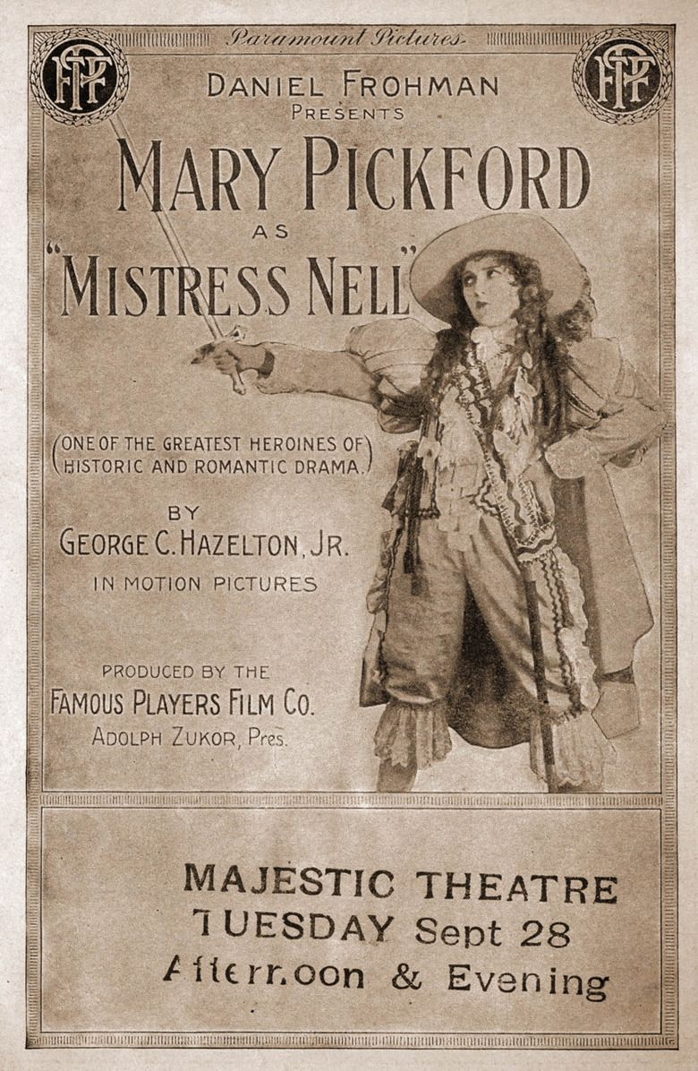Mistress Nell movie poster