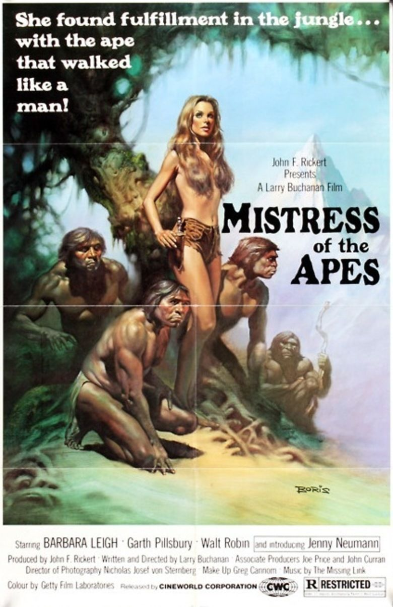 Mistress of the Apes movie poster