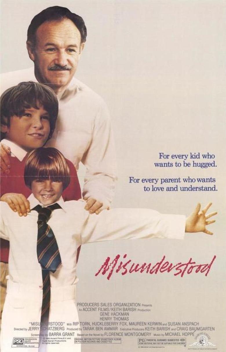 Misunderstood (1984 film) movie poster