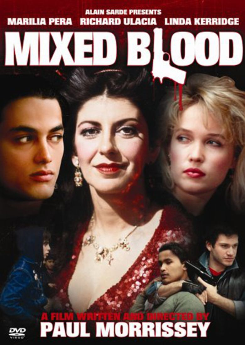 Mixed Blood (film) movie poster