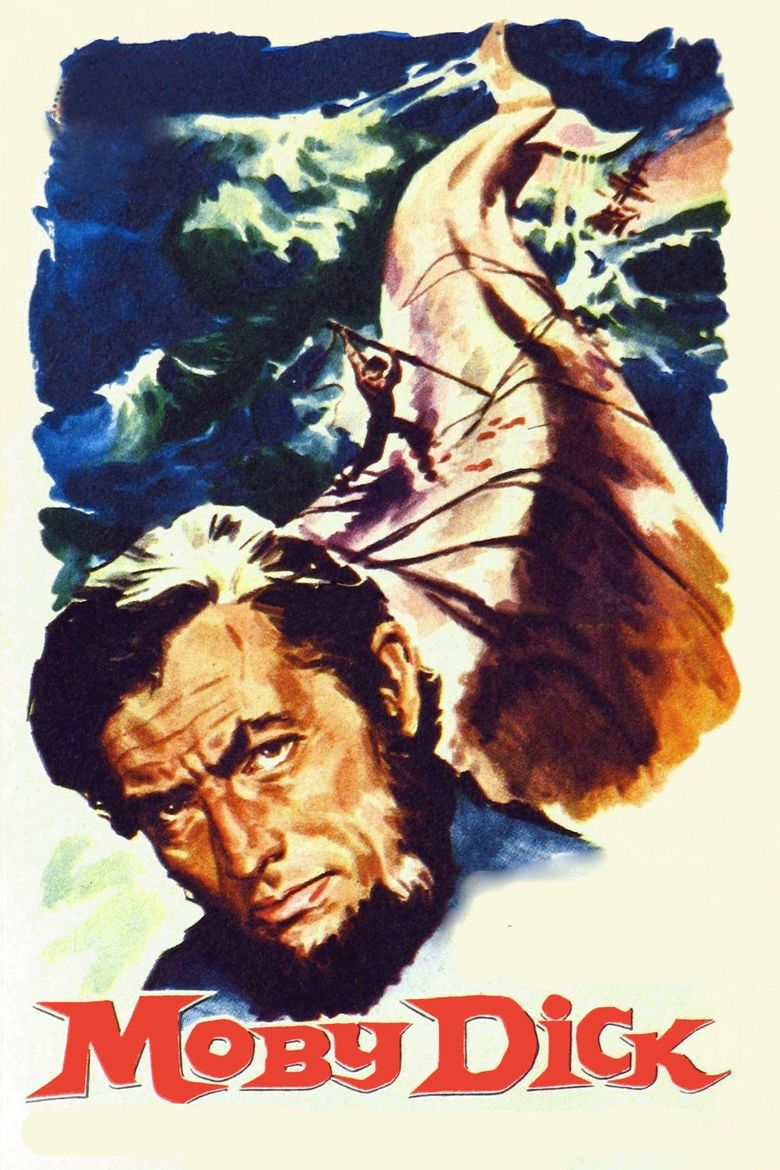 Moby Dick (1956 film) movie poster