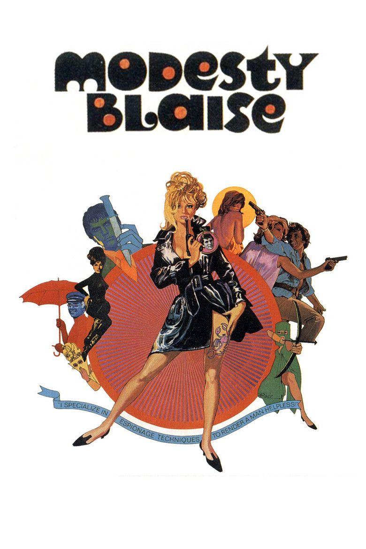 Modesty Blaise (1966 film) movie poster