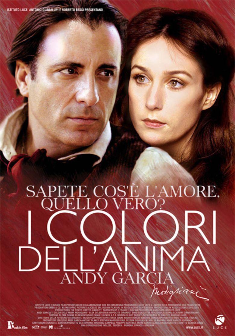 Modigliani (film) movie poster