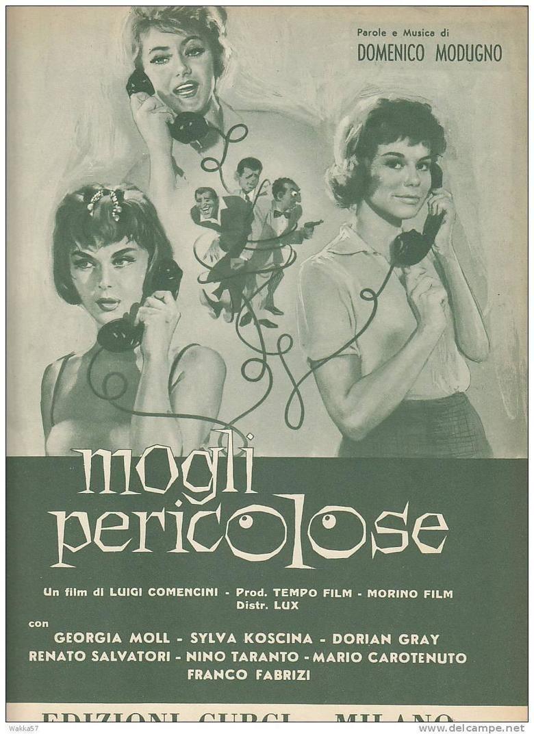 Mogli pericolose movie poster