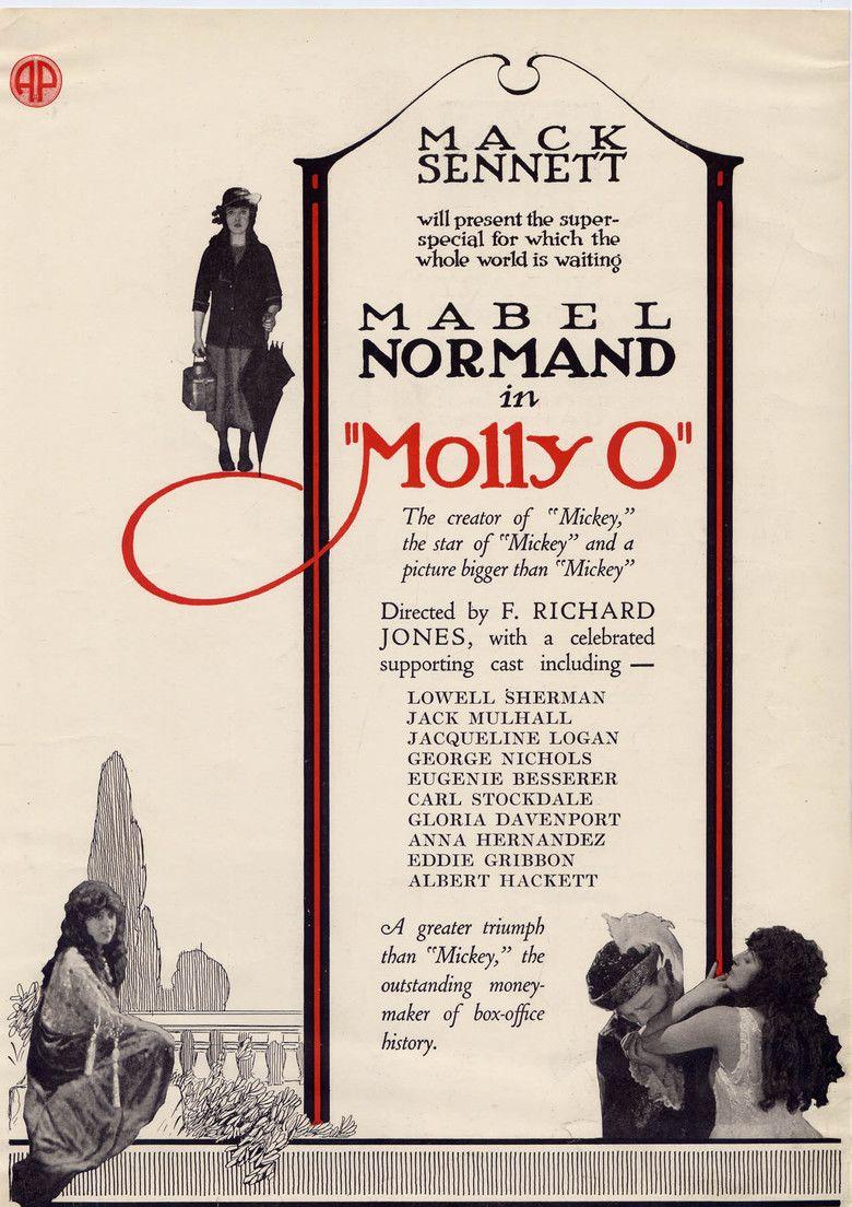 Molly O (1921 film) movie poster
