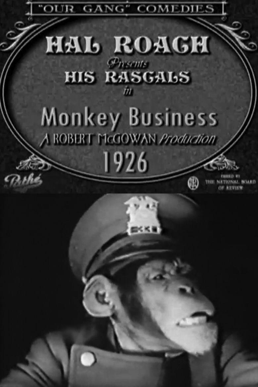 Monkey Business (1926 film) movie poster