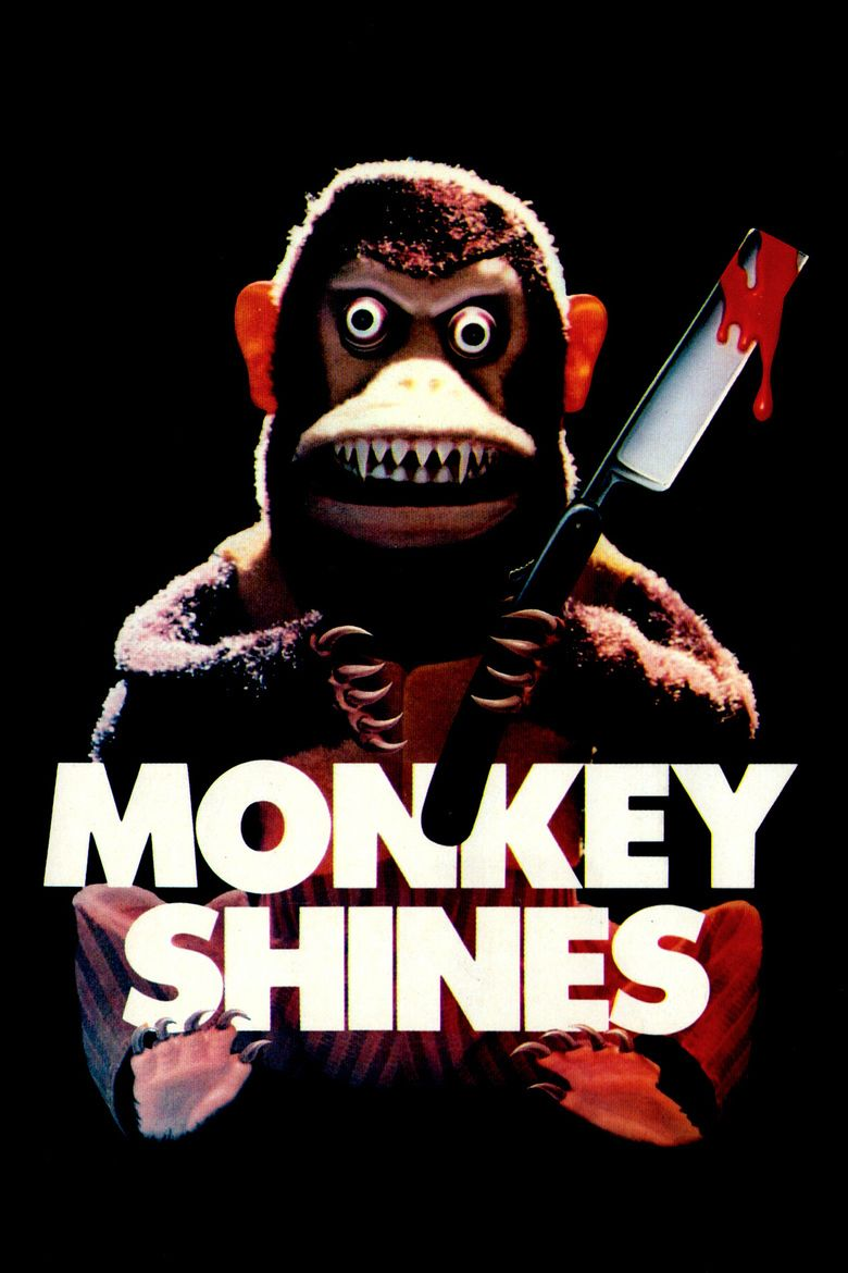Monkey Shines movie poster