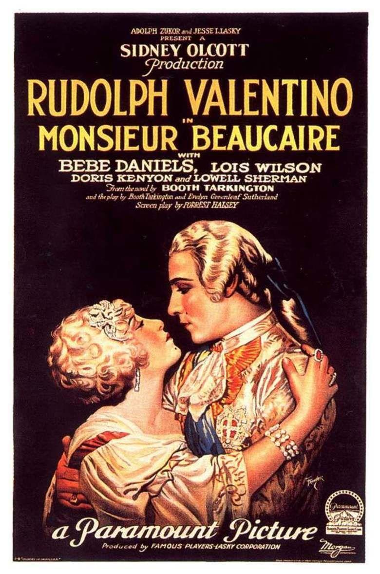 Monsieur Beaucaire (1924 film) movie poster