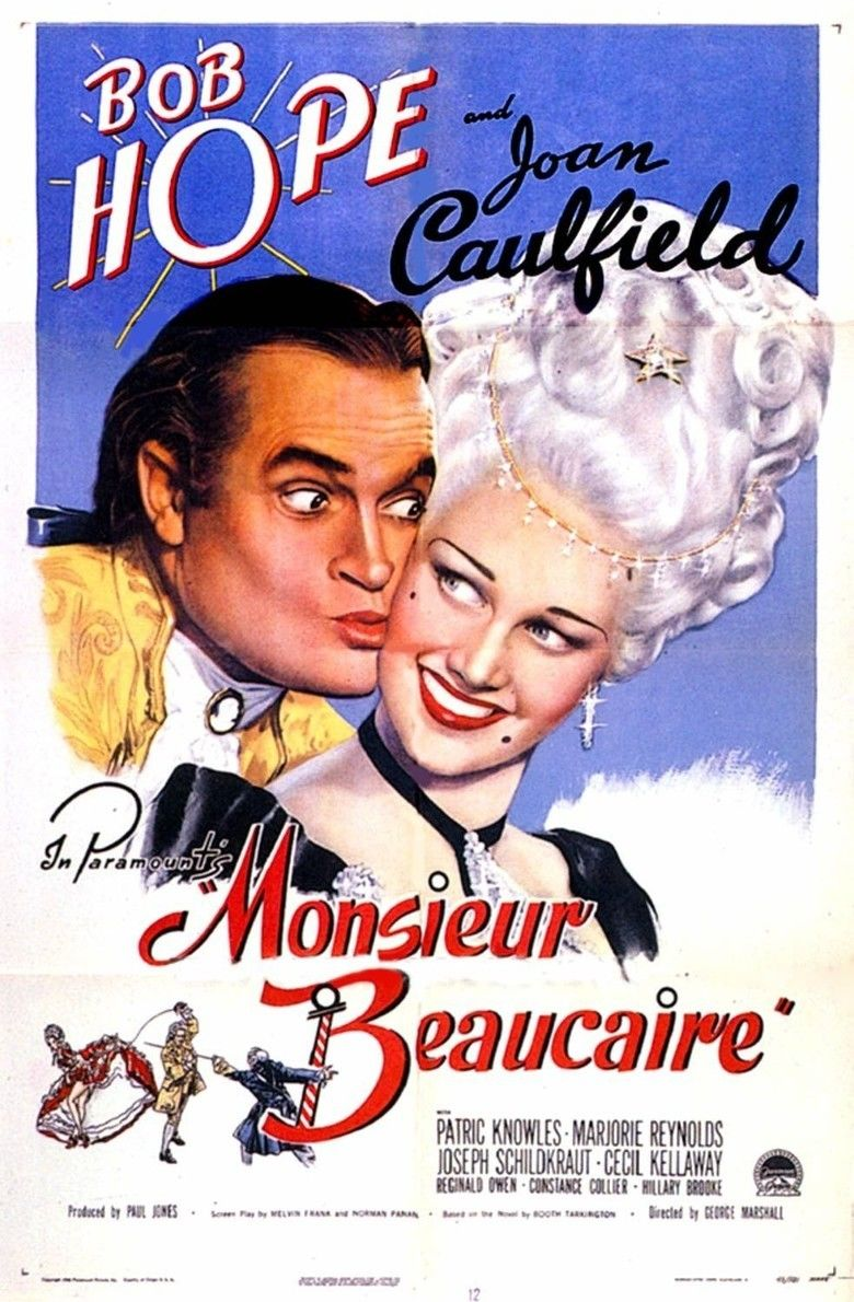 Monsieur Beaucaire (1946 film) movie poster