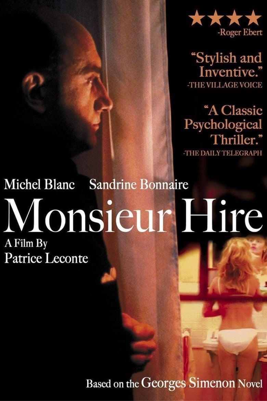 Monsieur Hire movie poster