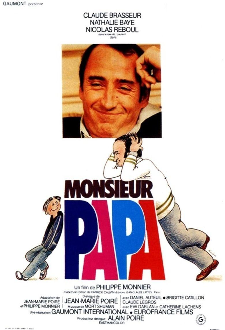 Monsieur Papa (1977 film) movie poster