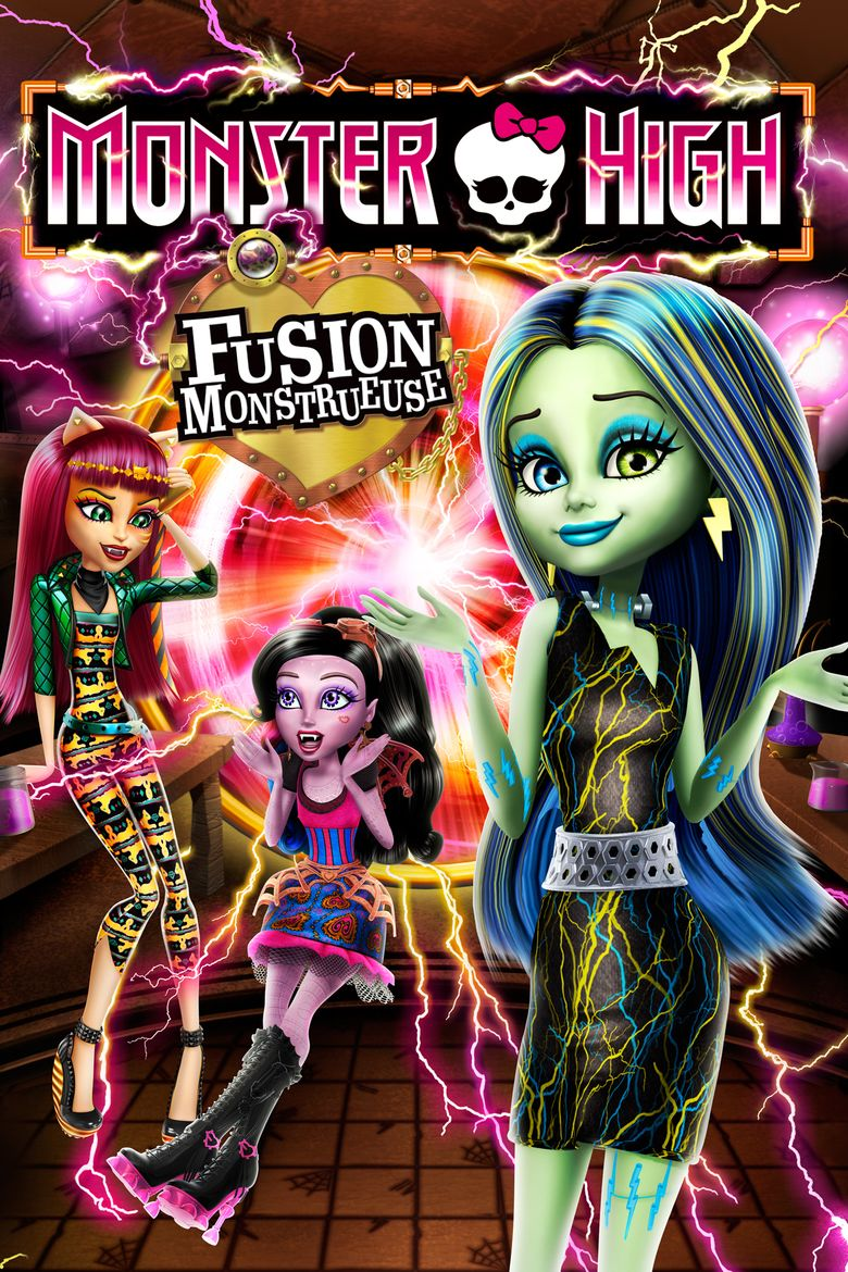Monster High: Freaky Fusion movie poster