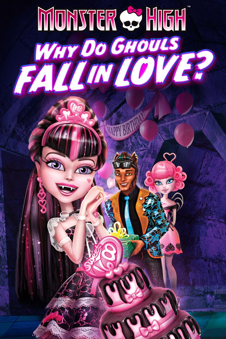 Monster High: New Ghoul at School movie poster