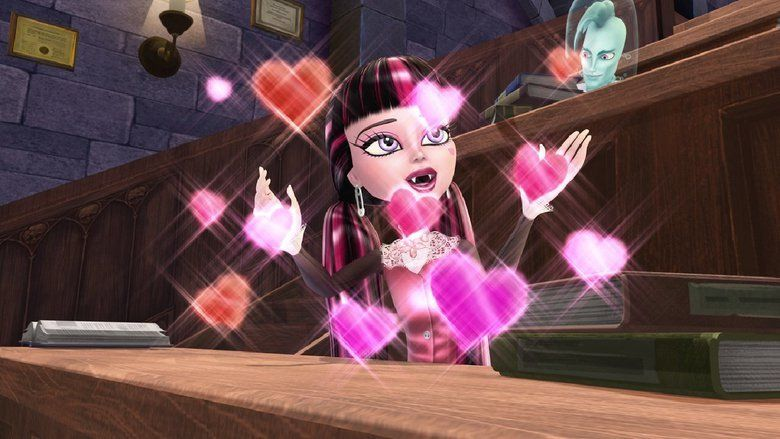 Monster High: Why Do Ghouls Fall in Love movie scenes