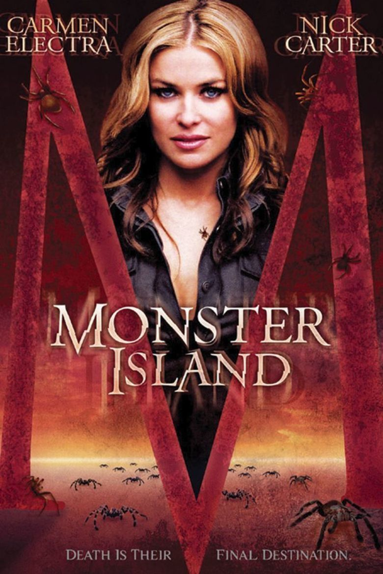 Monster Island (film) movie poster