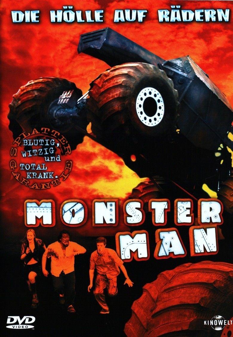 Monster Man (film) movie poster