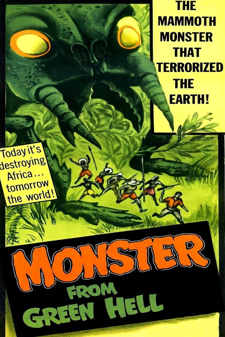 Monster from Green Hell movie poster
